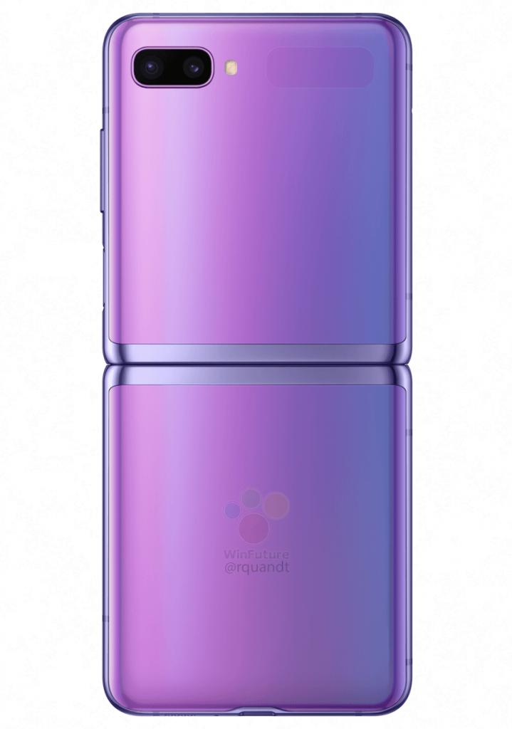 Samsung Galaxy Z Flip viola