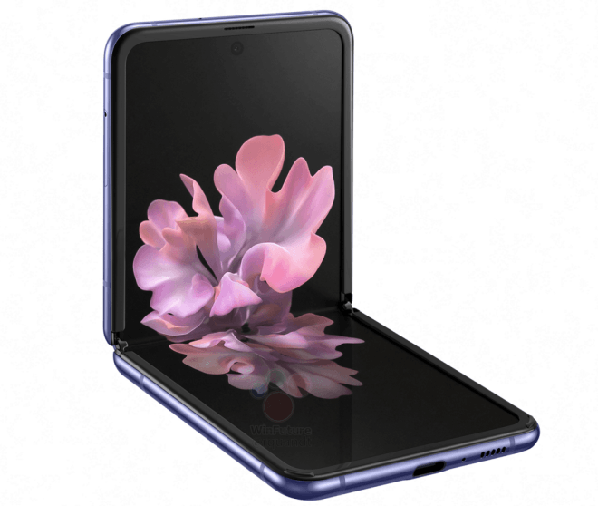 Samsung Galaxy Z Flip prime immagini e caratteristiche ufficiali
