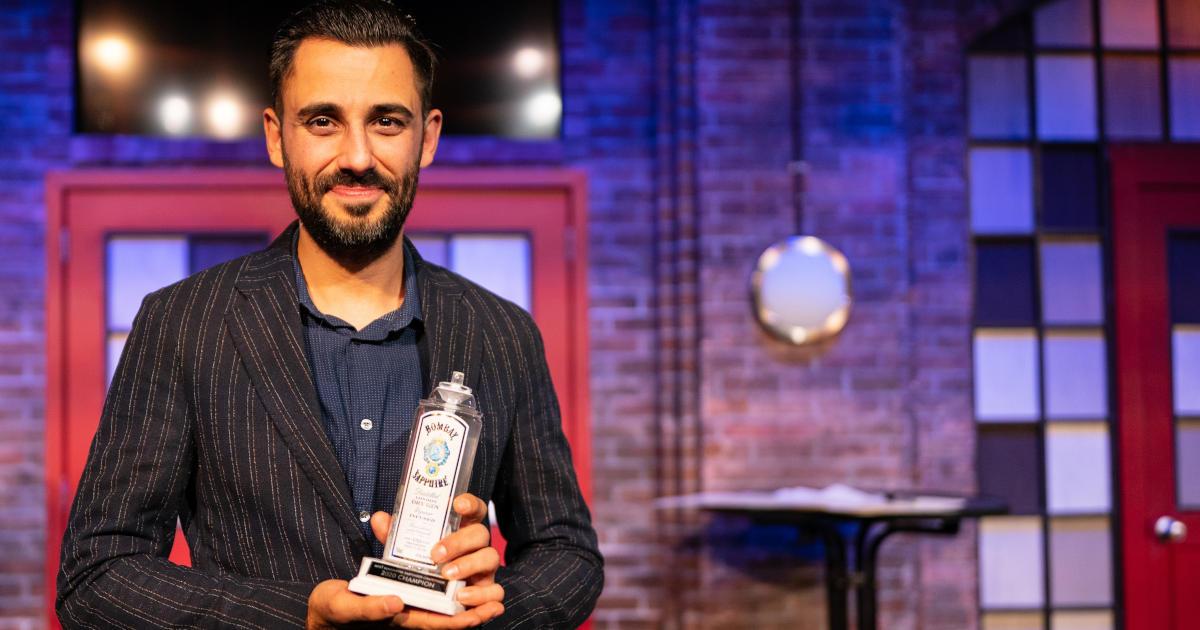 Valentino Longo vincitore bartender più fantasioso del Nord America