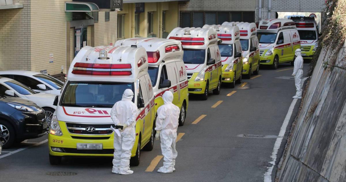 Corea del Sud coda ospedali