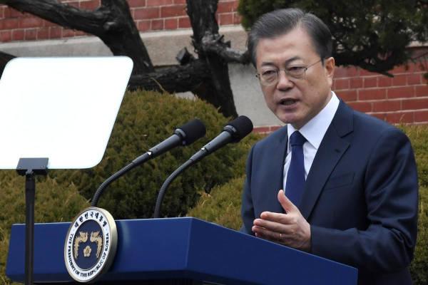 Presidente della Corea del Sud Moon Jae-in