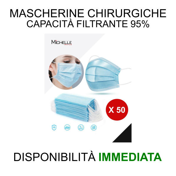 50 mascherine disponibilita immediata