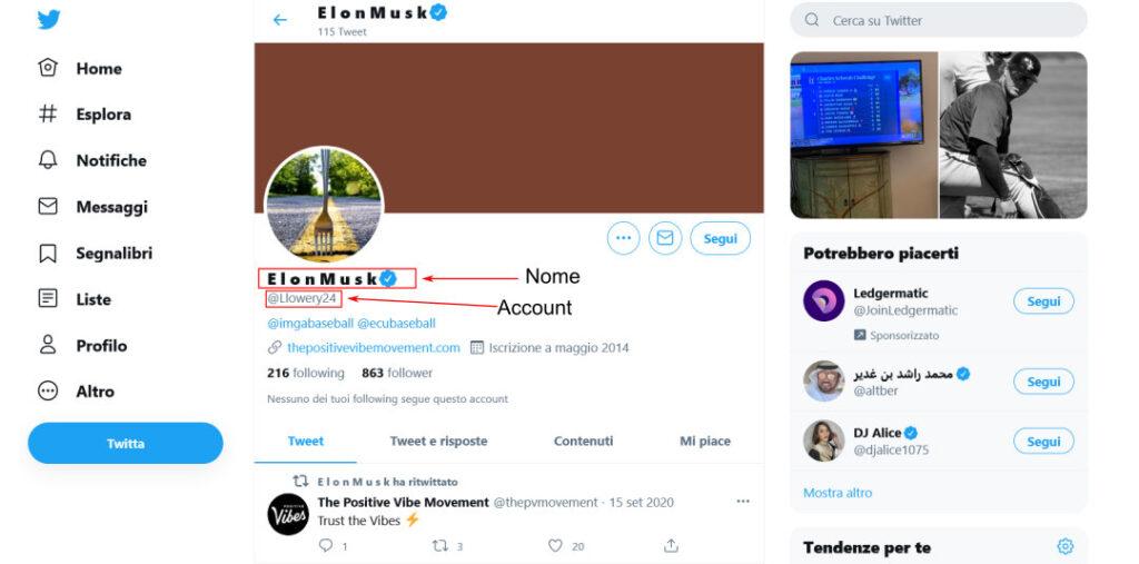 Account Twitter hackerato di luke Lowery