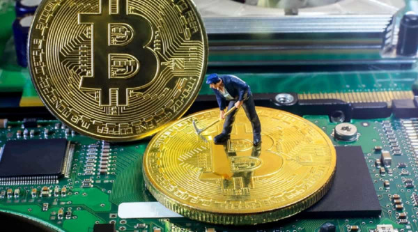 Attività di mining di Bitcoin