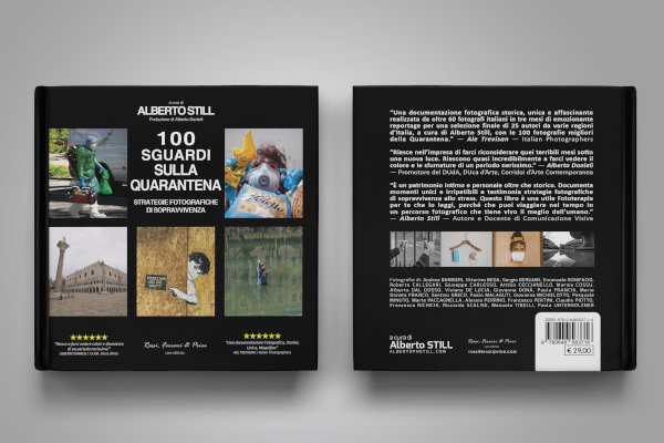 """Il libro """"100 sguardi sulla quarantena"""""""