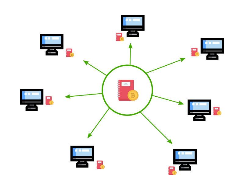 Nodi che compongono il network di una blockchain