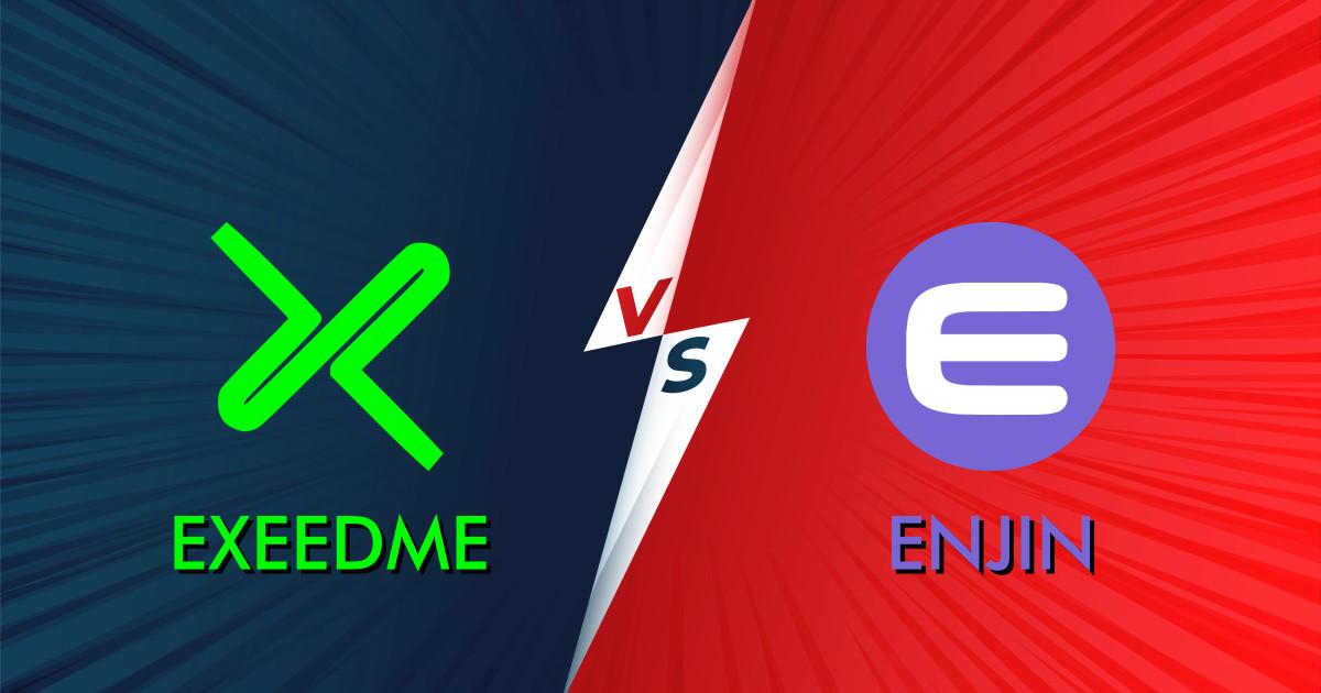 Exeedme vs Enjin