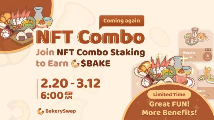 Stake NFT per guadagnare Bake