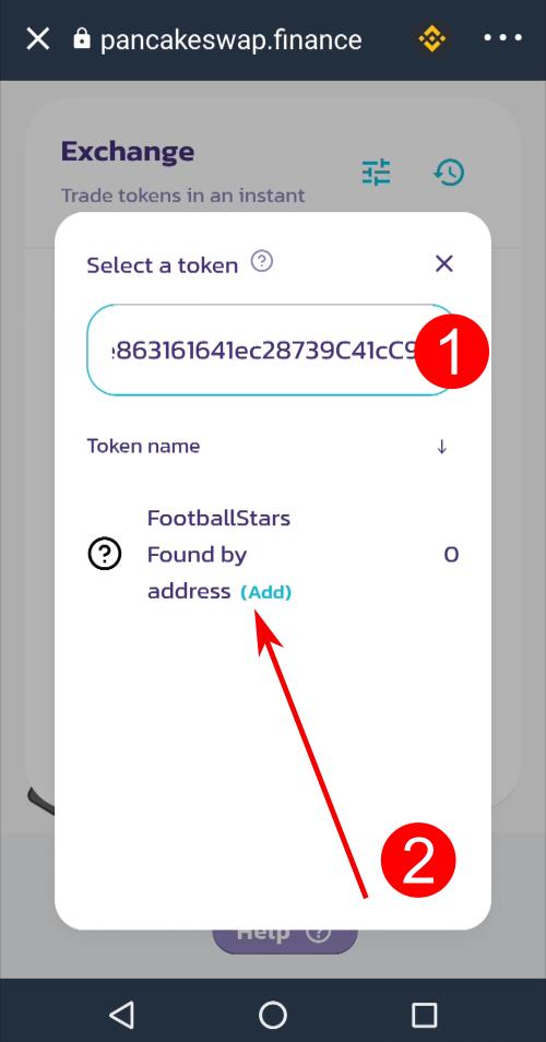 Come comprare il token di FootballStars FTS
