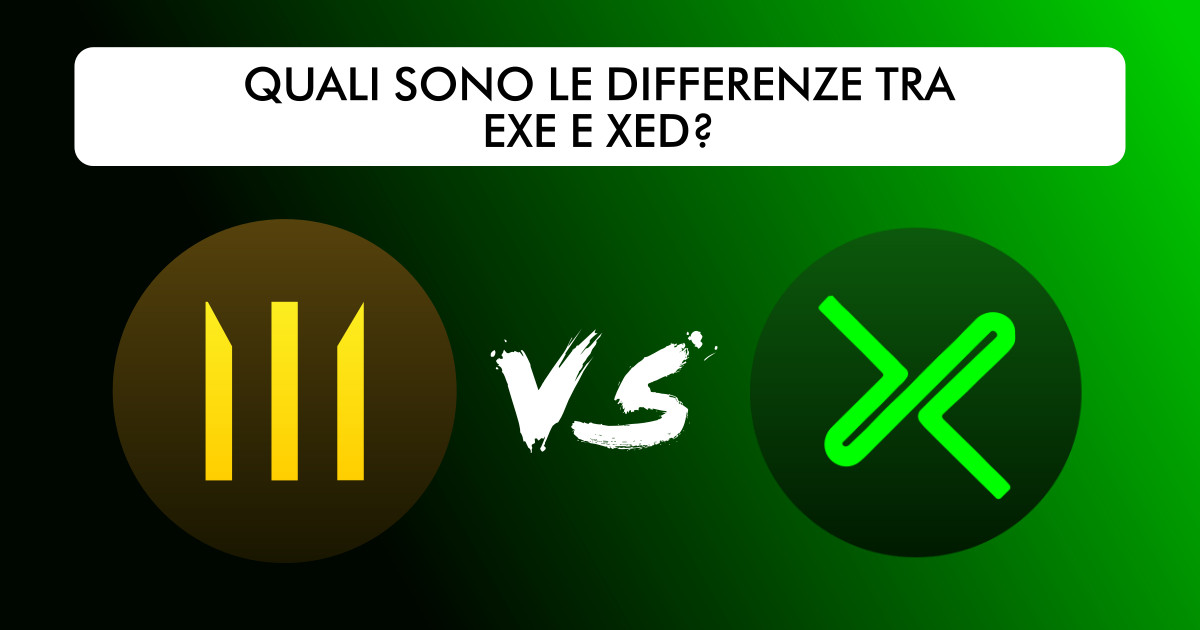 Differenze tra EXE e XED