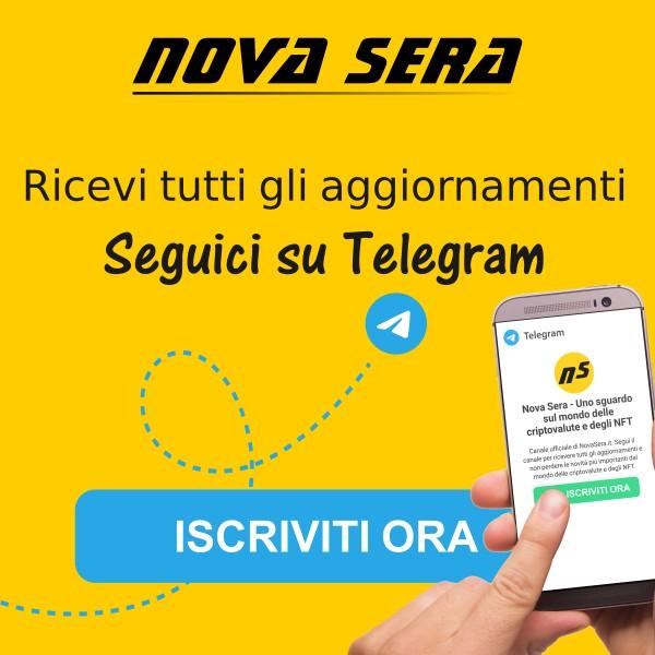 Segui NovaSera su Telegram