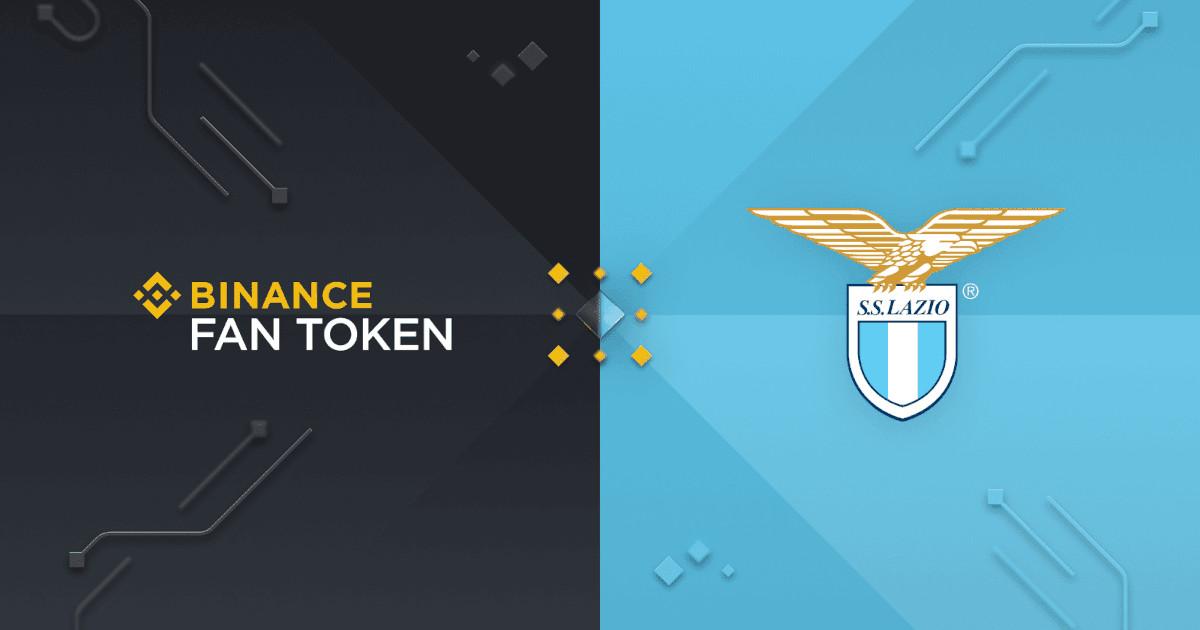 Binance diventa sponsor Lazio