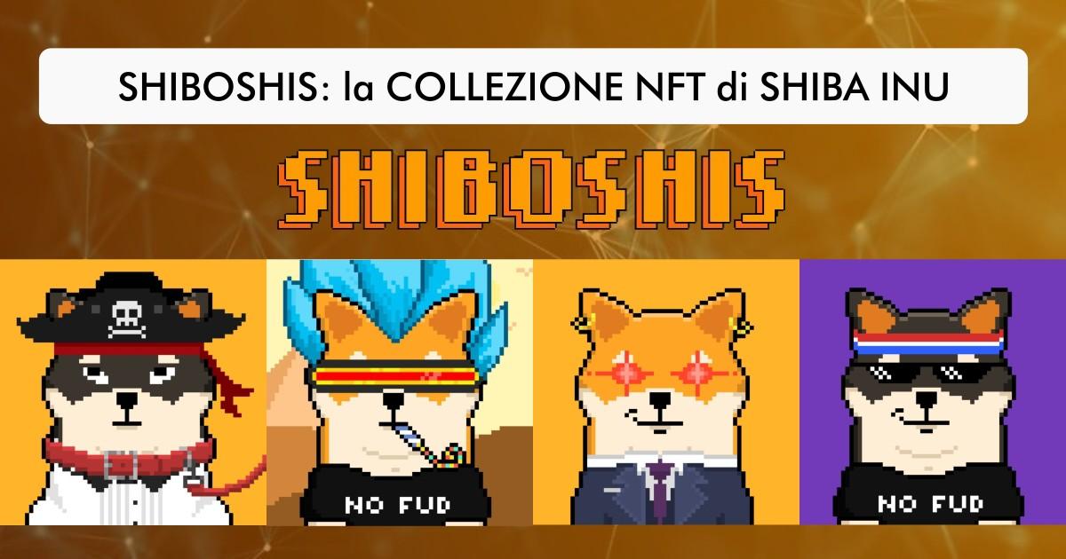 Shiboshis la collezione NFT di Shiba Inu